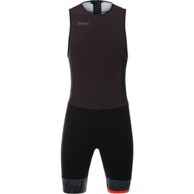 Santini Redux Sleeveless Trisuit Men black